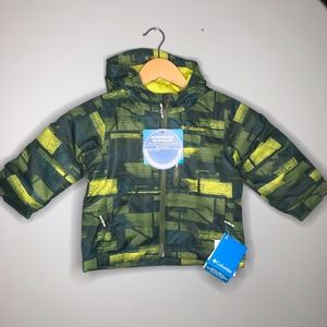 NWT Columbia Magic Mile puffer jacket toddler boys
